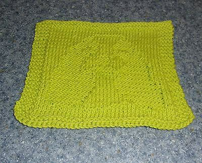 Brand New Hand Knit Cocker Spaniel Dog Dish Cloth For Dog Rescue Charity