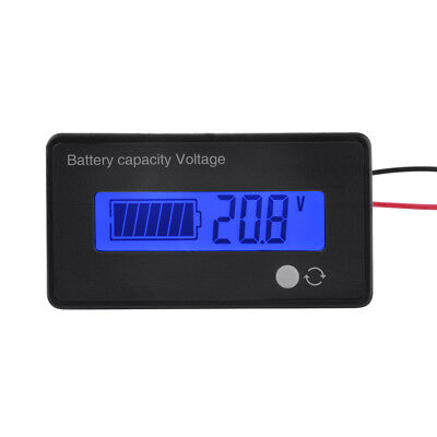 8V-70V Lithium Battery Capacity Tester LCD Lead-Acid Indicator Voltmeter BI667