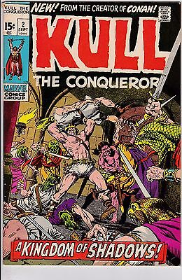 Kull The Conqueror #2 VG+ 4.5 1971 Marvel See My Store