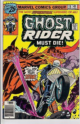 Ghost Rider #19 VG 4.0 1976 Marvel See My Store