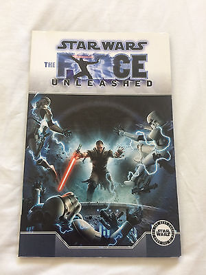 Star Wars The Force Unleashed Graphic Novel Comic Book Paperback Titan Books