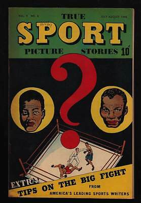 True Sport Picture Stories #8 Vf+ 8.5