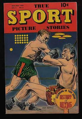 True Sport Picture Stories #2 Vf/nm 9