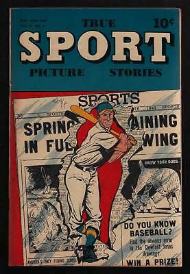 True Sport Picture Stories #1 Vf- 7.5
