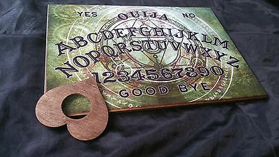 Ouija Board Mystical Symbols & Planchette LARGE A3 & Instructions Halloween