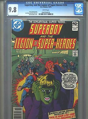Superboy #256 CGC 9.8 (1979) & Legion of Super-Heroes Highest Grade Only 2 @ 9.8