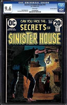 Secrets Of Sinister House #10 Nm+ 9.6