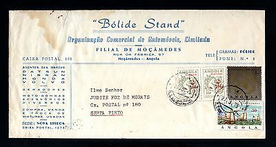 15619-ANGOLA-COMERCIAL COVER MOÇAMEDES to SERPA PINTO.1975.Portugal colonies.