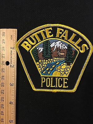 Butte Falls  Oregon  Police  Shoulder Patch