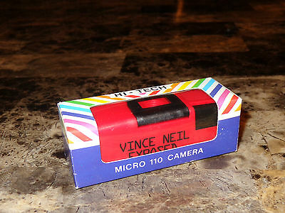 Vince Neil Promo Exposed Camera You're Invited Invite Motley Crue Steve Stevens