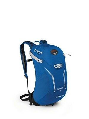 Osprey Syncro 15L Hydration Pack Backpack with 2.5L Bladder - S/M - Blue Racer