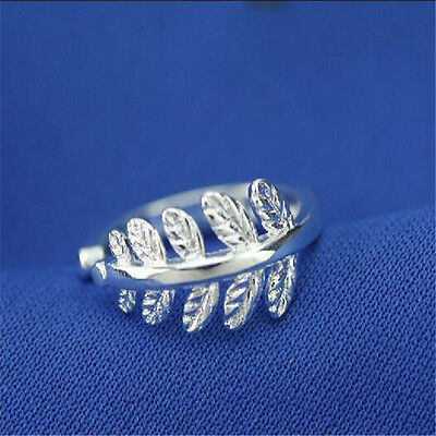925 Solid Sterling Silver Plated Women/Men NEW Fashion Ring Gift SIZE OPEN H200