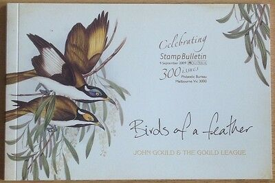 Australia Booklet 2009 Birds Of A Feather .cat £40