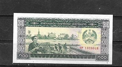 LAOS LAO #30a 1979 UNUSED OLD 100 KIP BANKNOTE BILL NOTE PAPERMONEY CURRENC