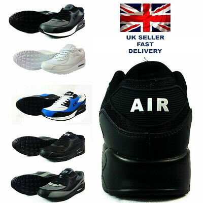 Mens Running Trainers Casual Lace Gym Walking Boys Sports Shoes Ladies Boys Size