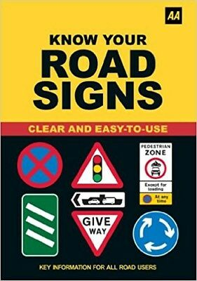 AA Driving Test Know Your Road Signs B6CW#