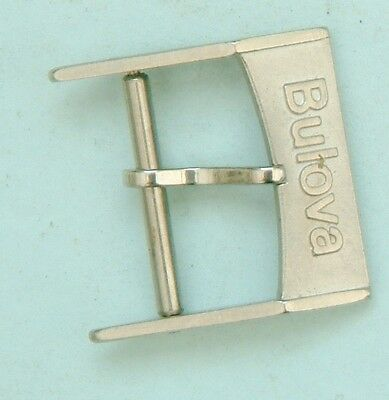 Bulova accutron 16mm Buckle Genuine bulova accutron buckle new old stock