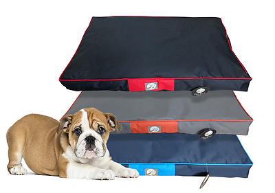 Large Waterproof Non-Slip Comfy Padded Dog Puppy Pet Bed Cushion Pillow Mattress