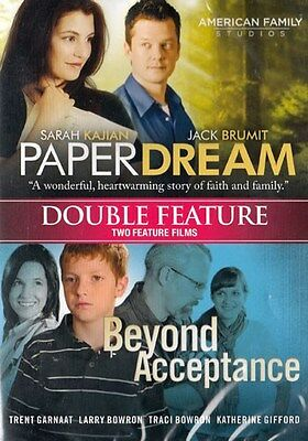 NEW Sealed Christian Drama Double-Feature DVD! Paper Dream + Beyond Acceptance