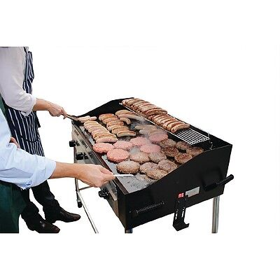 Buffalo Barbecue BBQ Griddle Propane 1025x1291x672mm Gas Burner Commercial
