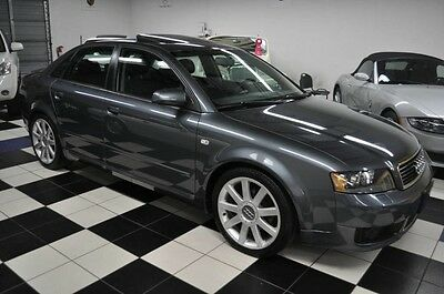 2005 Audi A4 RARE ULTRA SPORT EDITION - ONE OWNER - CARFAX 2005 Audi 1.8T