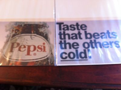Vintage 1969 Pepsi Taste That Beats The Others Cold Soda Print ad