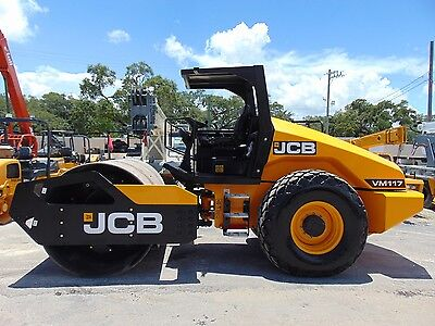 "Brand New - Jcb Vm-117 Soil Compactor - 82"" Drum - Eco-Max 125 Hp - 25,000 Lbs"