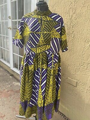 Nigerian African Wax Ankara Blouse / Top ( Cultural& Ethnic Clothing > Africa )