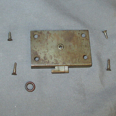 Antique Singer 15 IF 27 VS2 Treadle Sewing Machine Bonnet Coffin Cover Lock