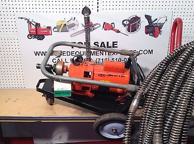 General Wire Model 88 Sewer Snake Drain Cleaning Machine Plumbing Electric Power