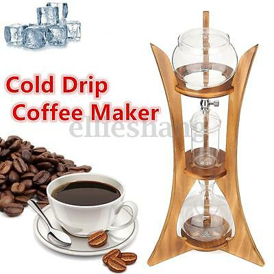 Cold Drip Coffee Maker Ice Dutch Brew Machine Paper Free Filter Serve For 8 Cups
