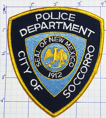 New Mexico, Socorro Police Dept Patch