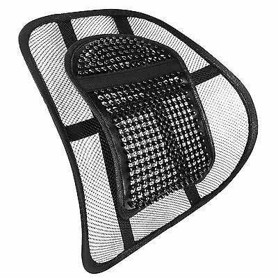 Lumbar Lower Back Car Seat Support Lumber Cushion Pain Relief Office Chair Mesh