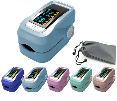 NewMode Finger Pulse Oximeter SpO2 Monitor PR Heart Rate LED Sensor Blood Oxygen