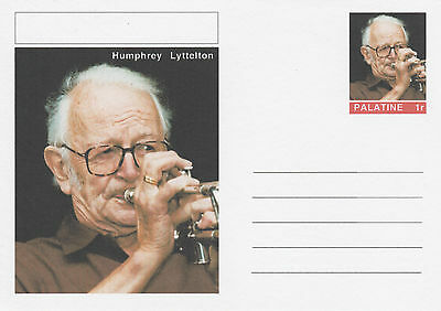 CINDERELLA - 4630 - HUMPHREY LYTTELTON  on Fantasy Postal Stationery card