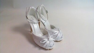 G Westerleigh Wedding Bridal Shoes Charlotte - Snow White - Size 39 UK 6 #10D564