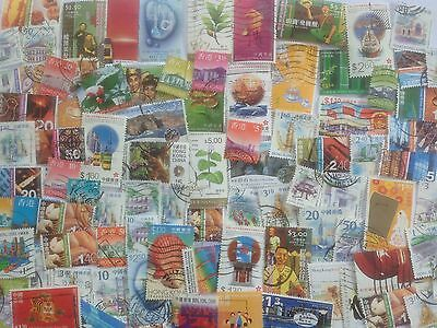 400 Different Hong Kong Stamp Collection - China region only