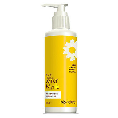 Bio-Nature Lemon Myrtle Anti-Bacterial Handwash 250ml