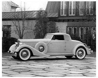 1934 Packard Twelve Dietrich Convertible Coupe Factory Photo ua9679