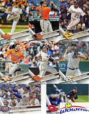 2017 Topps Series 2 Baseball Complete 350 Card Set MINT- Cards #351-700! Loaded