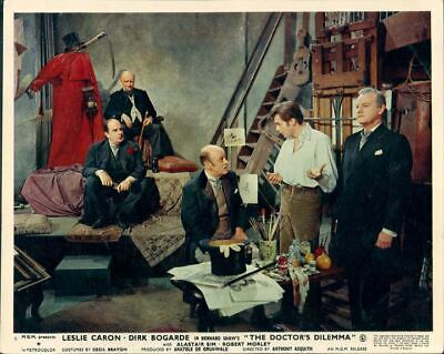The Doctor's Dilemma Alastair Sim Dirk Bogarde Original Lobby Card #6