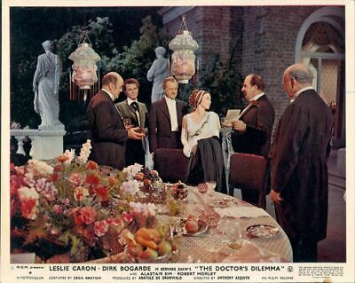 The Doctor's Dilemma Leslie Caron Dirk Bogarde Alastair Sim Original Lobby Card