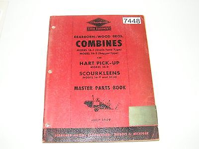 Dearborn Woods Combine 16-1 16-2 Hart Pick-up 16-8 16-9 16-10 Parts Catalog 1949