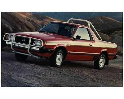1982 Subaru Brat Factory Photo ca7704