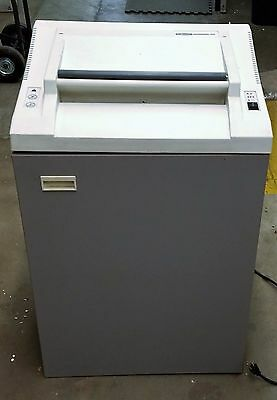 Used Fellowes Powershred 480 16 Inch Industrial Shredder Working Condition