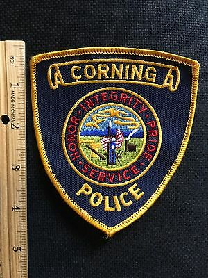 Corning  Iowa  Police Shoulder Patch