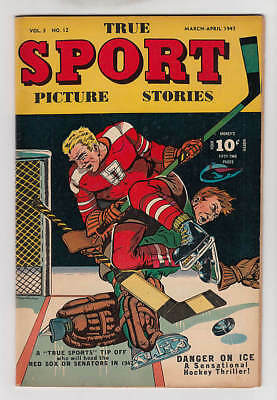 True Sport Picture Stories #12 Vf+ 8.5
