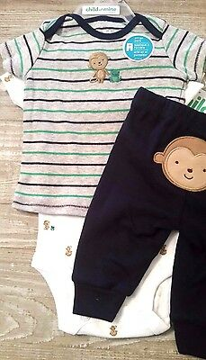 Carters child of mine three piece outfit newborn nwt