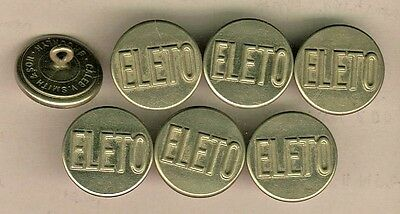 7 ELETO Coat Uniform Buttons