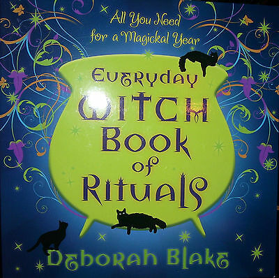 Brand New! Everyday Witch Book Of Rituals For Magick All Year Long Wiccan Pagan